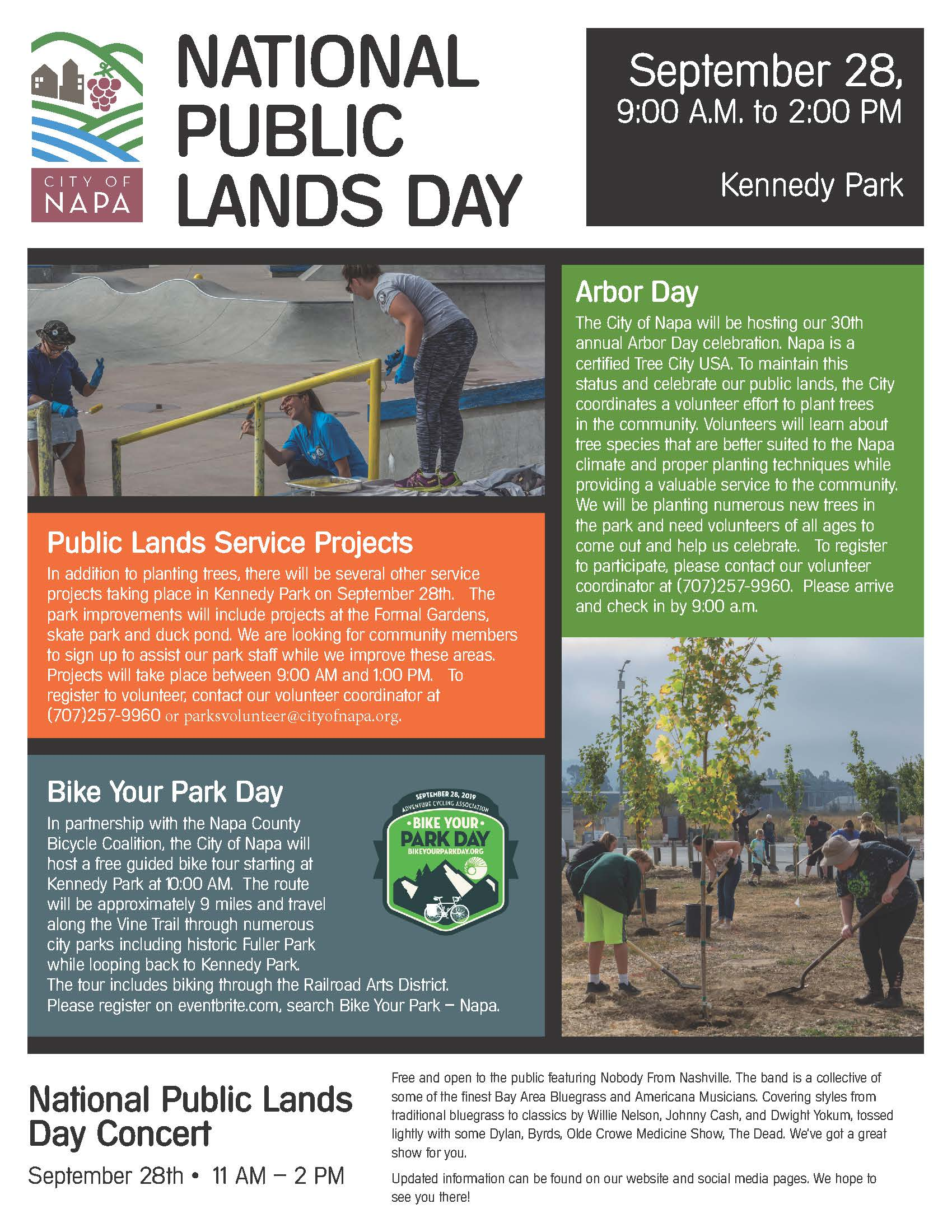 National Public Lands Day Event Flyer